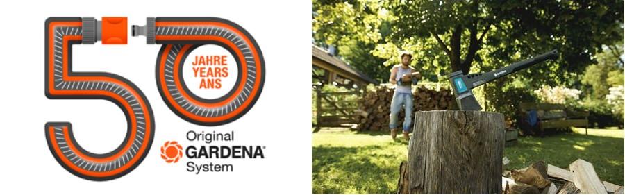 GARDENA kerti szerszámok. Több mint 50 évnyi innováció