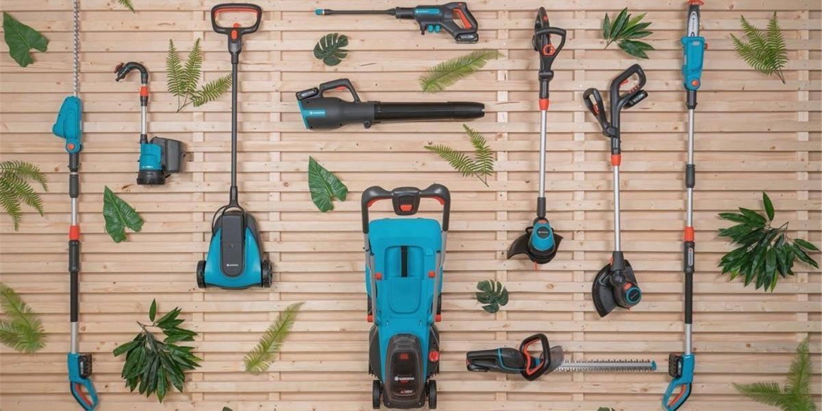 Gardena akkumulátoros gépek