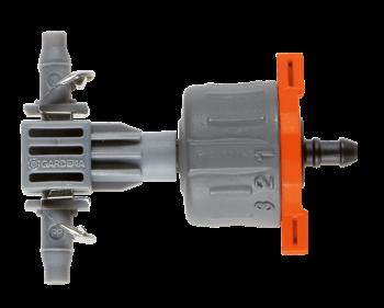 Micro-Drip szabályozható nyomáskiegyenlítős sorcsepegtető Kép